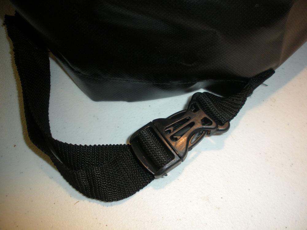 black push clip on cover for firewood holder
