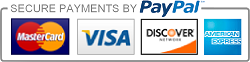 PayPal secured logo