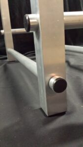 corner tubing parts of aluminum frame of TFH-1 firewood holder
