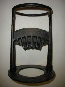 black cast iron kindling kracker tool