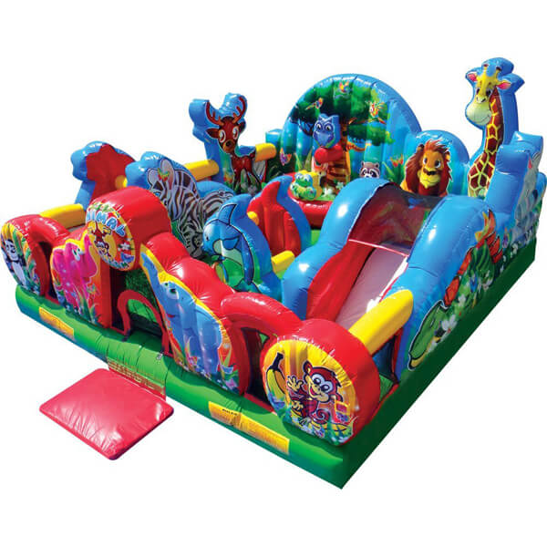 Animal Kingdom   Inflatable For Rent   Rent-All located in Sioux Center and Storm Lake