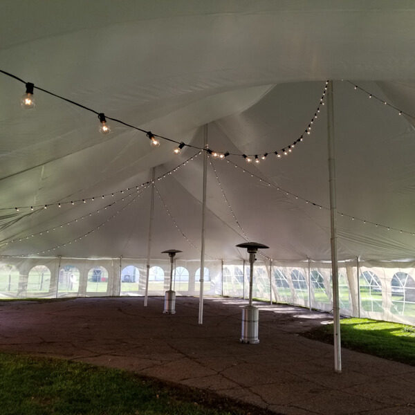 Mini Globe Lights | Celebrations by Rent-All located in Sioux Center | Tent Lighting For Rent