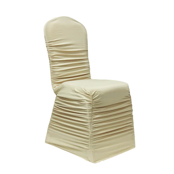 Chair Cover Ivory Spandex | Celebrations by Rent-All located in Sioux Center and Storm Lake | Wedding Rentals | For Rent
