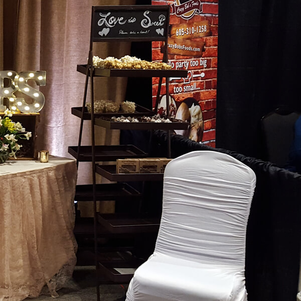 Ladder Tray | Celebrations by Rent-All located in Sioux Center | Wedding Rental | Ladder Tray For Rent