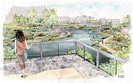 artist rendering of the park