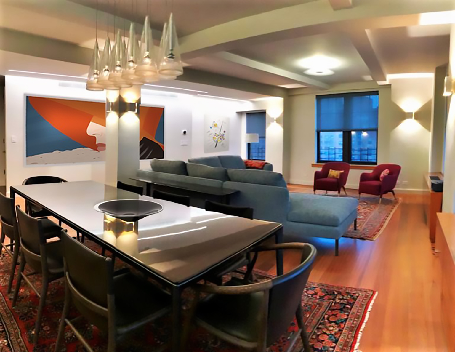 Modular-Architectural-Lighting-in-Residential-Gut-Rehab-by-Interior-Designer-Kevin-Gray