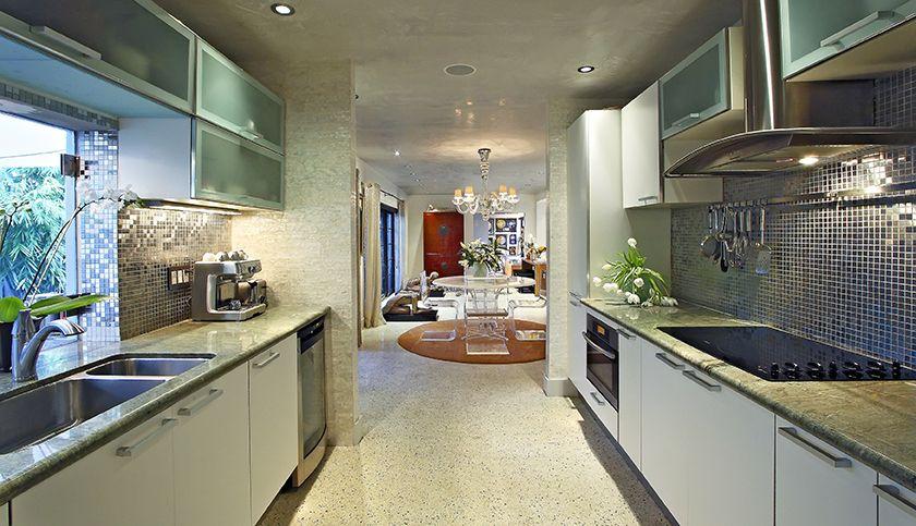 Revisiting Interior Designer Kevin Gray's Zen Inspired Mid-Century Bungalow Renovation- Kitchen