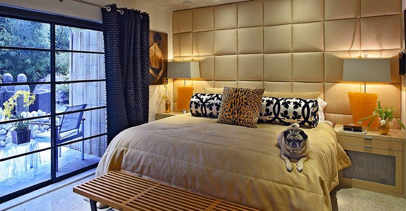 Revisiting Interior Designer Kevin Gray's Zen Inspired Mid-Century Bungalow Renovation- Master Bedroom