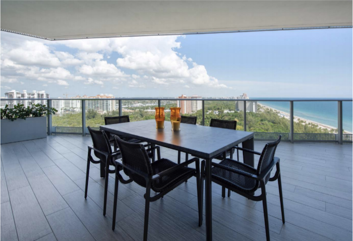 Work/Play/Live on the Terrace on this Ft Lauderdale new build condo at The Paramount