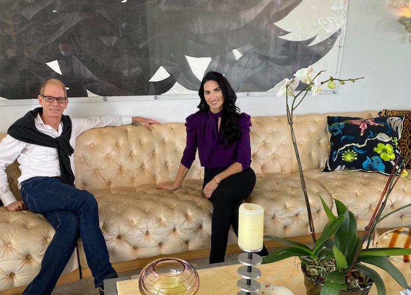 Kevin Gray's Luxury Miami Home: Interior Designer Kevin Gray and SoFlo Home host Alena Capra