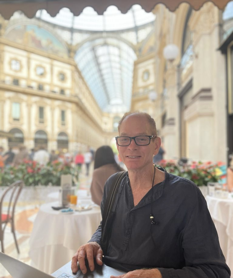KEVIN GRAY In Milan for ORBIT LAMP RELAUNCH