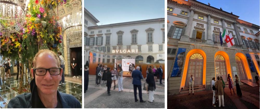 Kevin Gray At Bulgari During Milan Design Week