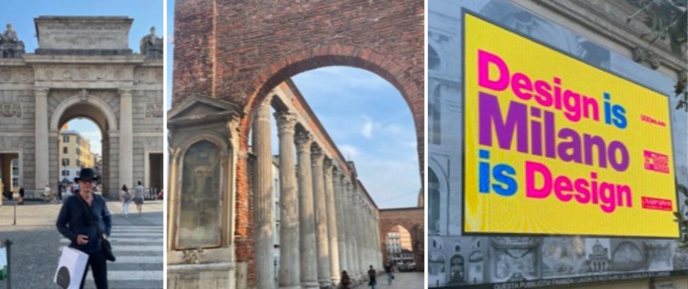 Kevin Gray At CORSO COMO during Milan Design Week