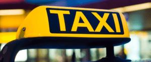 DFW Taxi Sign