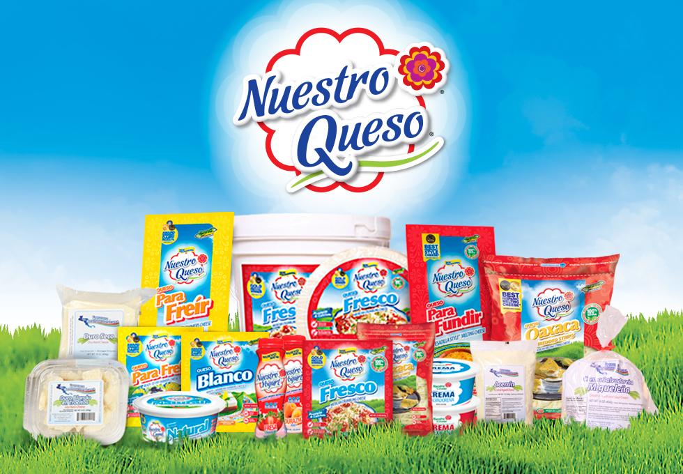 Nuestro Queso® lanza su nuevo logo, la nueva imagen de su marca se expandirá a través de nuevos canales comerciales
