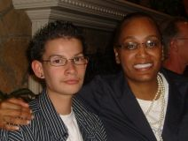 Nechelle recently met Ghadmel who she donated her marrow  to in 2005.