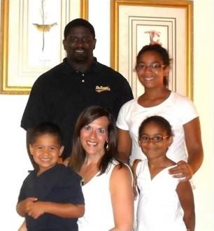 Malena Brown & family
