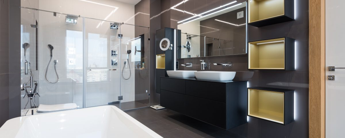 professionally cleaned bathroom and shower