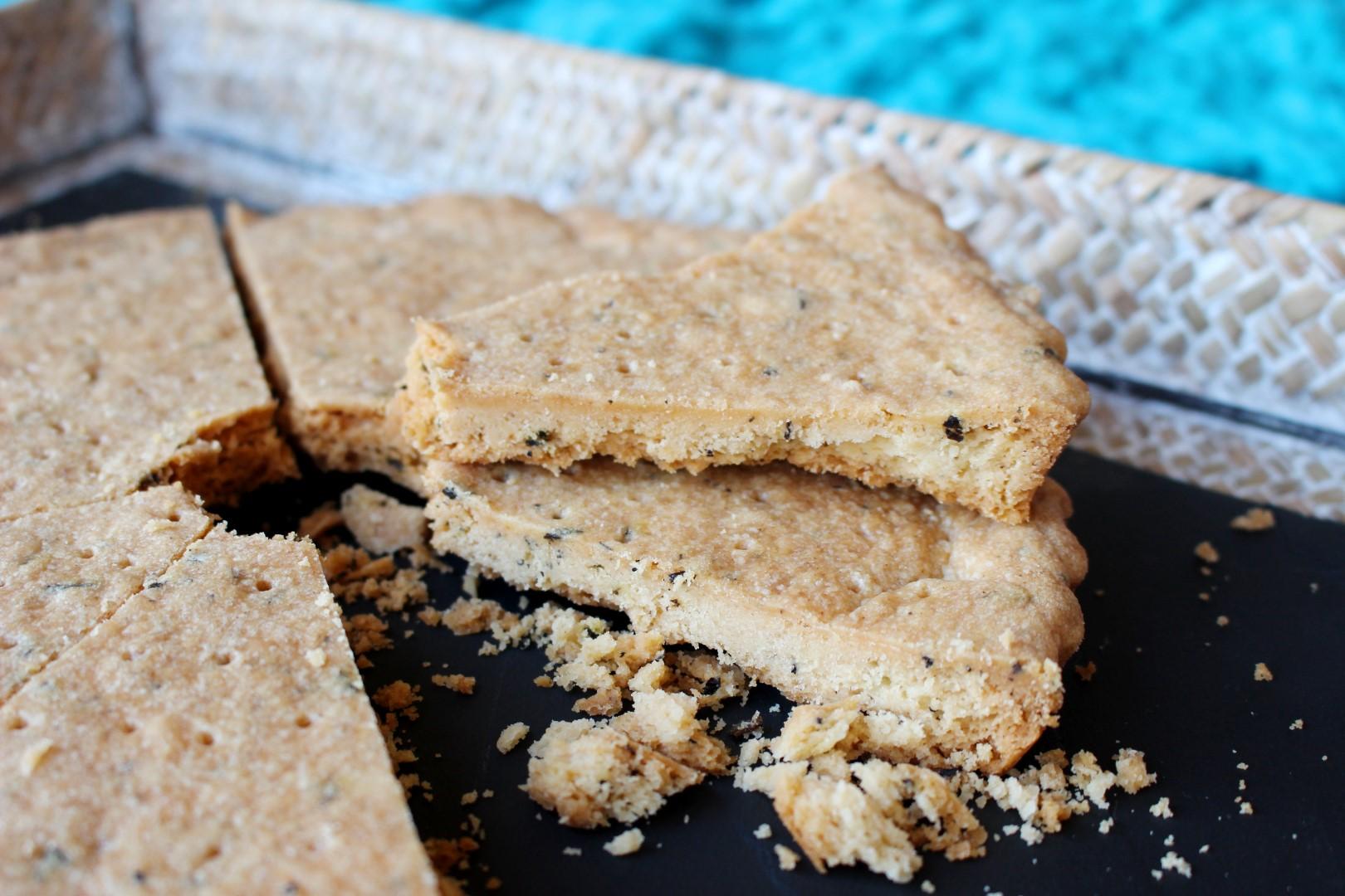 receta fácil de galletas shortbread con té earl grey.