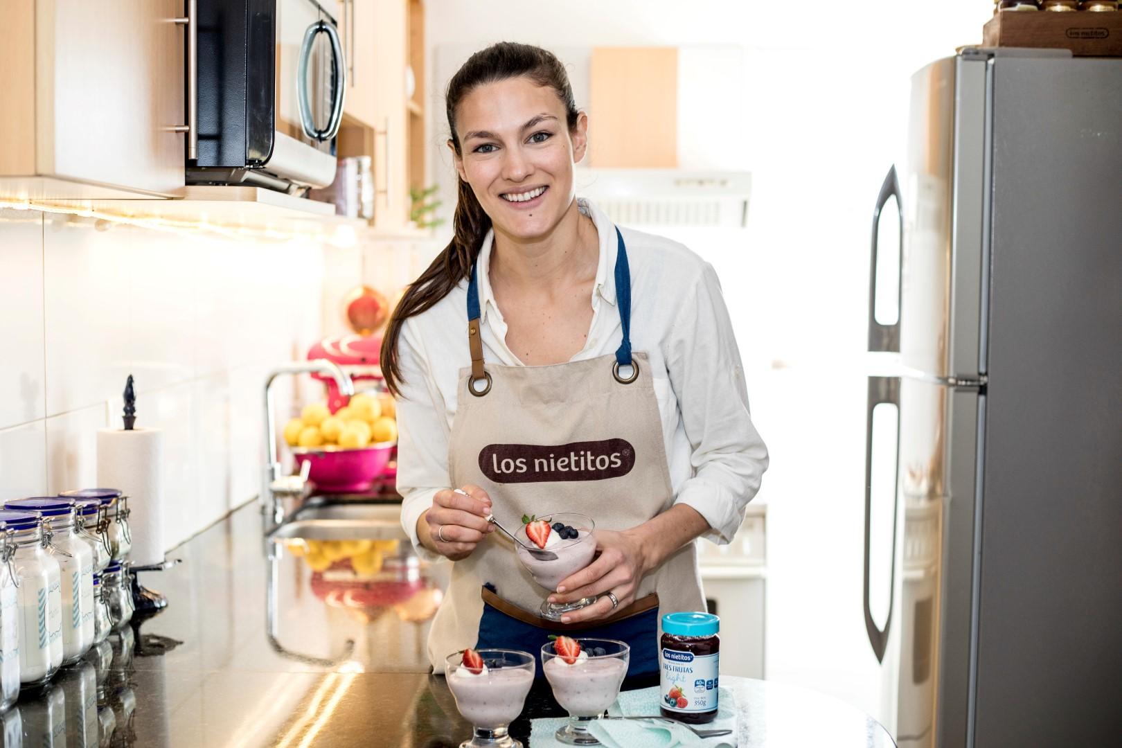 receta de mousse light, bajo en calorías, recetas de cocina.
