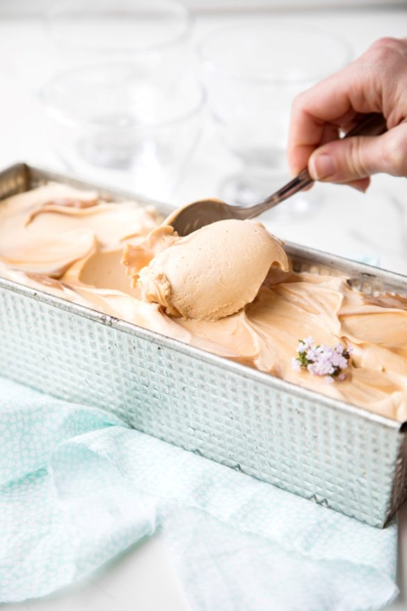 helado de dulce de leche, como haecr helado casero, recetas de helado casero, recetas de cocina, postres, recetas fáciles-