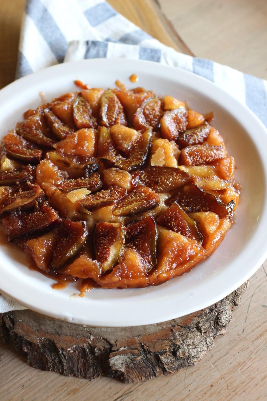 tarte tatin manzana, higos, hacer de comer, dani garcia
