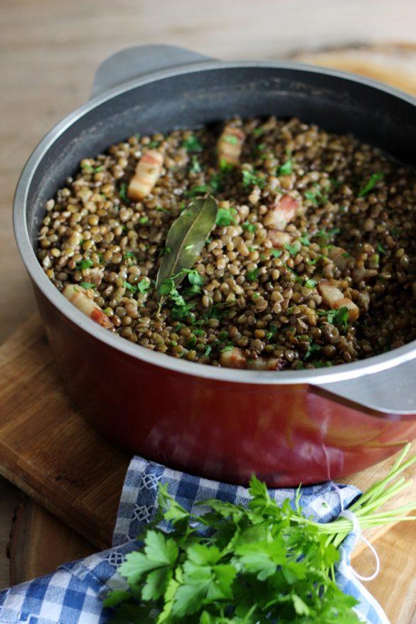 lentejas garam masala curry con panceta chorizo, recetas invierno, recetas de cocina, recetas simples, saludables, propiedades de las lentejas.