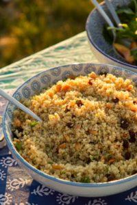 ensaladas, ensaladas de invierno, ensalada saludable, recetas saludables, cocina sana, recetas fáciles, recetas de cocina, cocina de estación, quinoa, frutos secos,