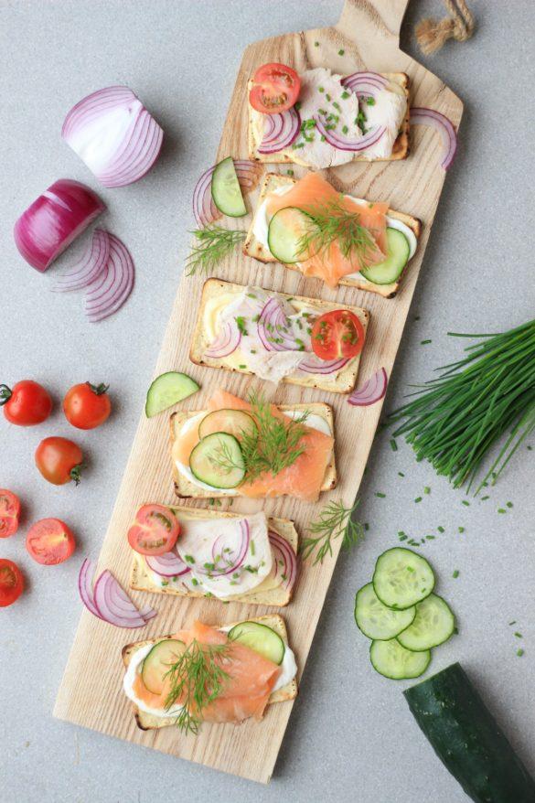 tostaditas de maíz horneadas Sanissimo Bimbo, Salmas, galletitas, libre de gluten, sin tacc, almuerzo, brunch, toast,