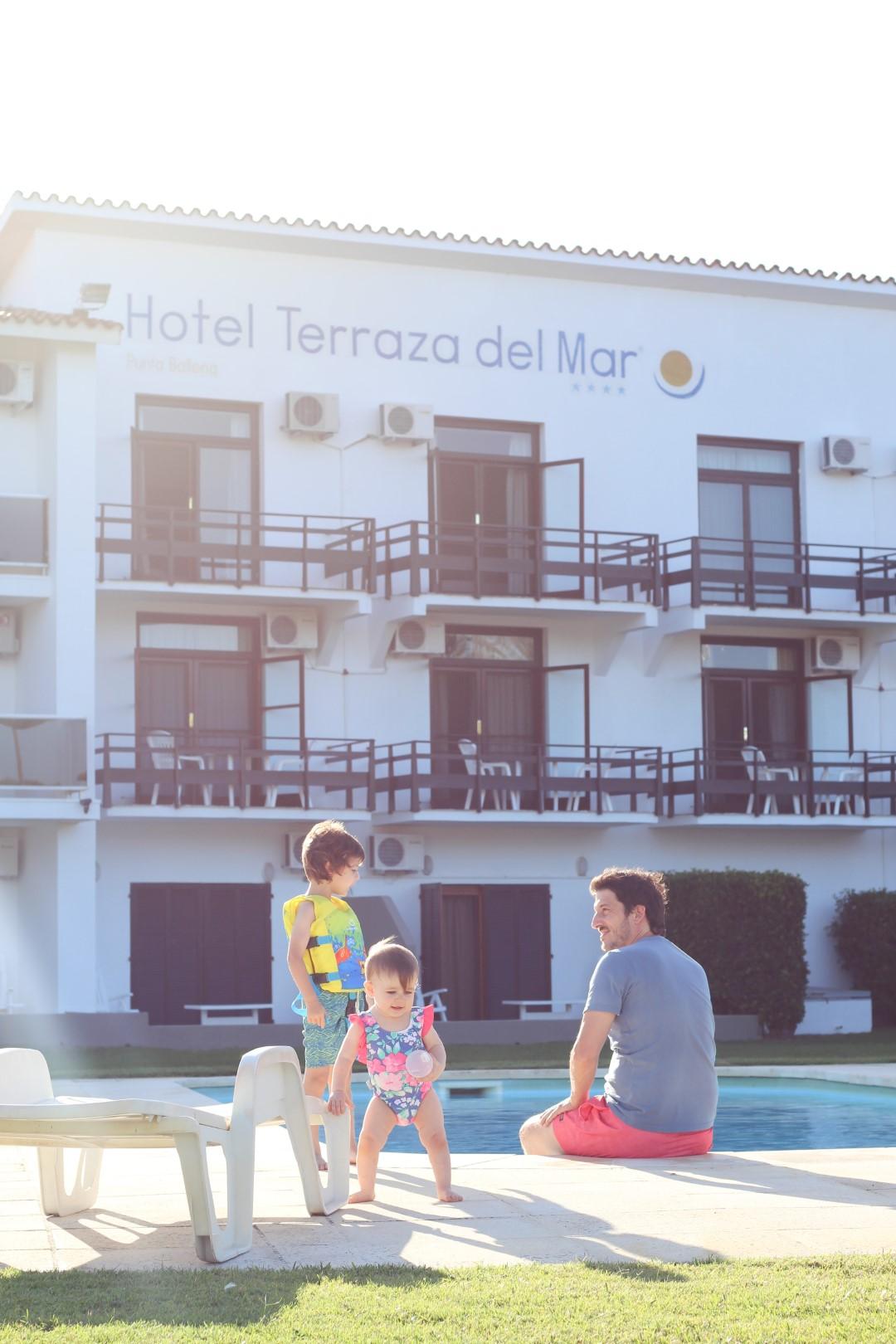 hotel terraza del mar, playa, uruguay