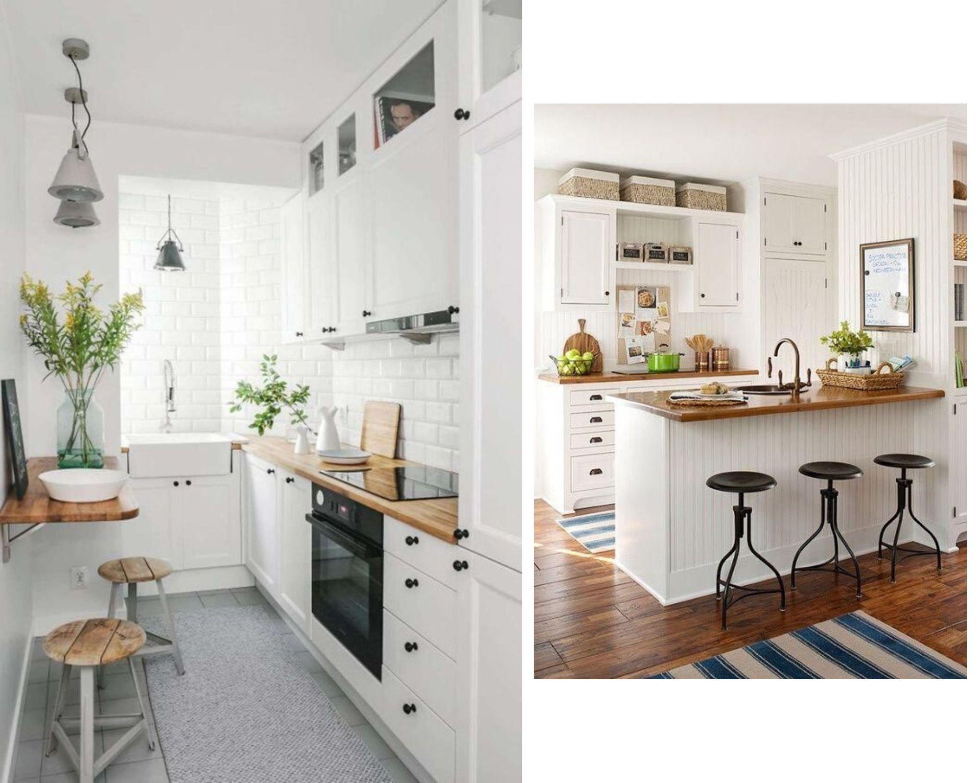 cocinas pequeñas, como sacarles partido, consejos de decoración, decoración de interiores, la puerta de al lado, la puerta deco, ines artagaveitya, vero bosch, organización de cocinas.