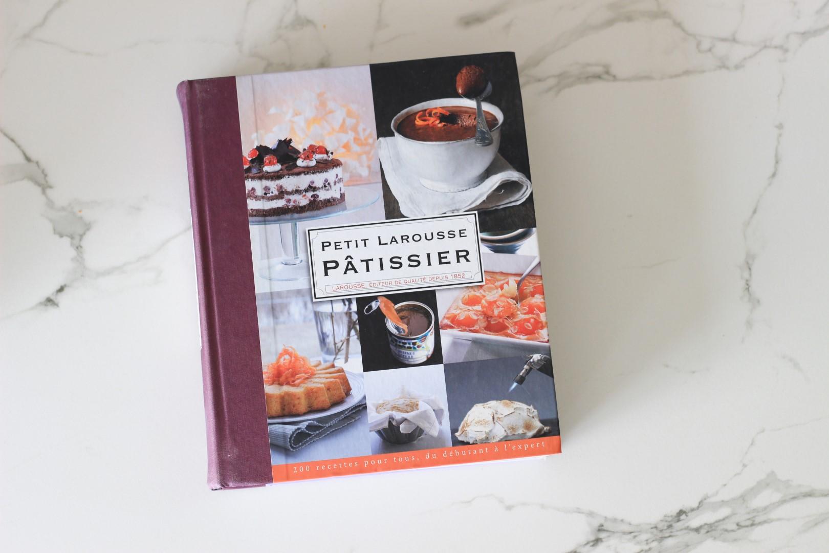petit larousse patissier, libros de pastelería, libros de cocina, recetas de cocina, recomendación libros de cocina.