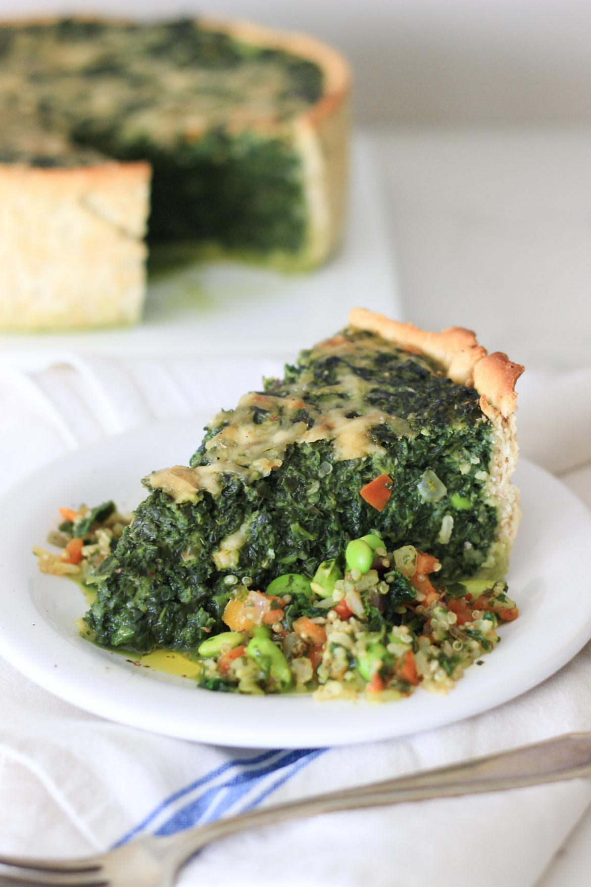 tarta de espinacas, como hacer masa casera, como hacer tarta de espinacas con espinacas congeladas, Ardo, vegetales Ardo