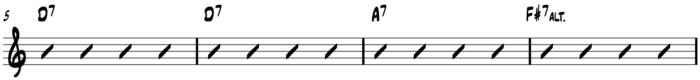 10-20-15 PTC Turning the Corner 12 bar progression - line 2