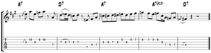 10-20-15 Playing The Changes - Turning the Corner in A - one system