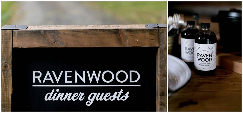 barn, dinner, ravenwood