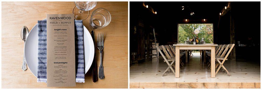 Ravenwood Barn Dinner