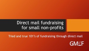 Direct mail fundraising for small non profits