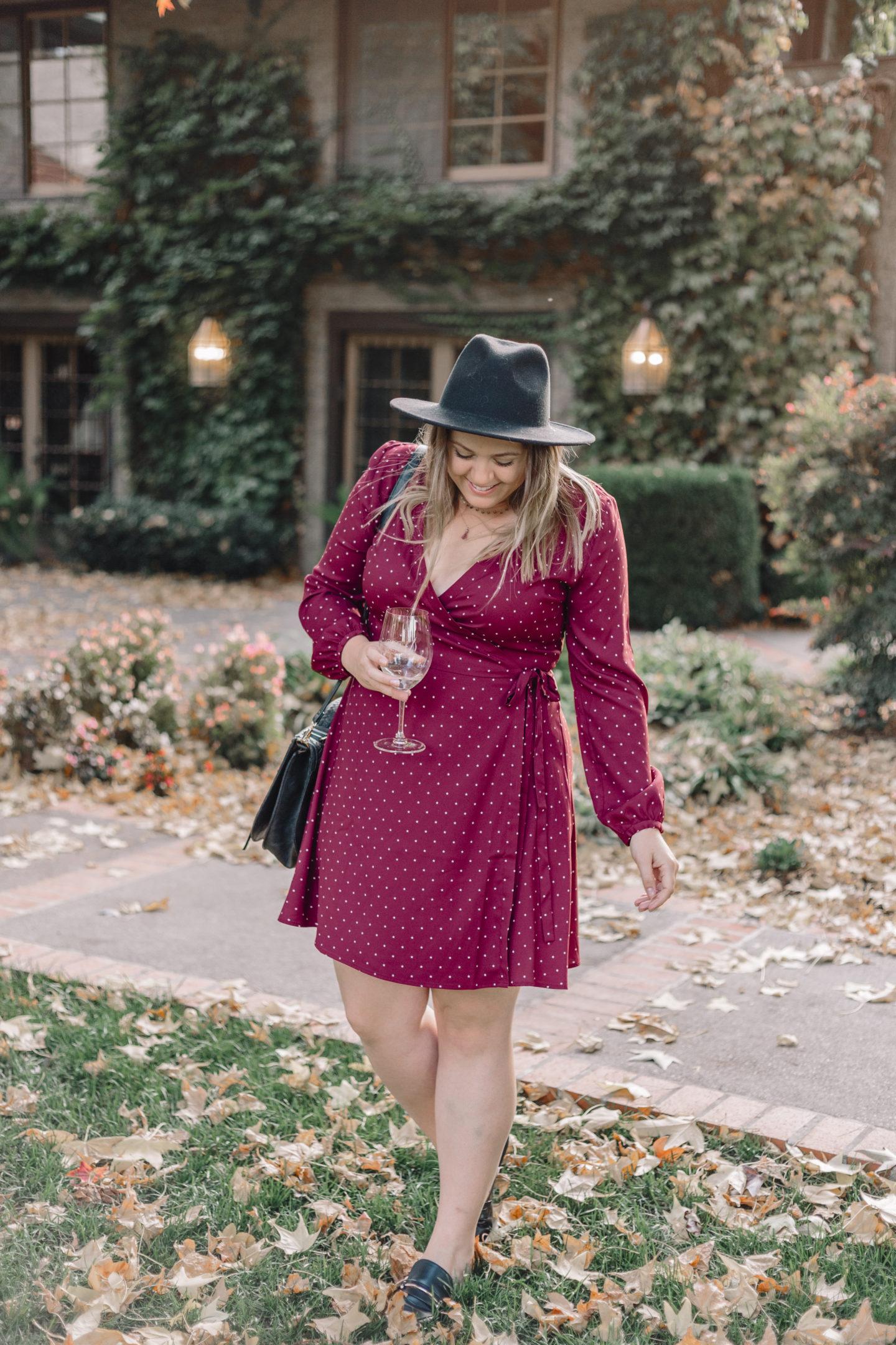dry creek vineyard review, star print dress