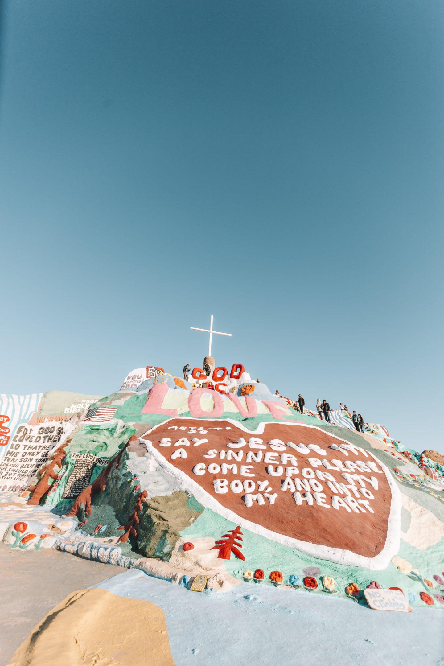 Happy New Year at Salvation Mountain // wanderabode.com