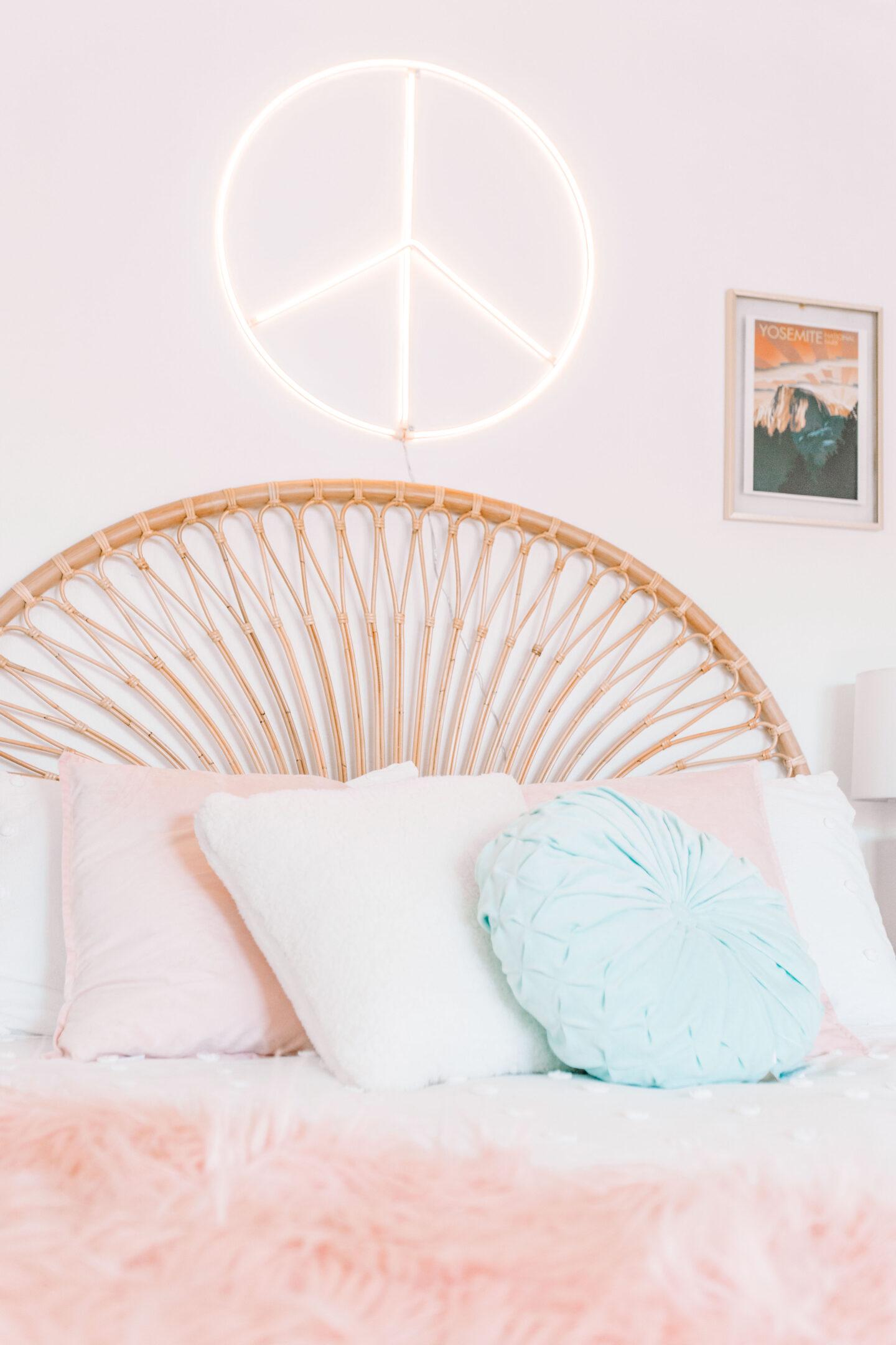 Bohemian Spring Bedroom Refresh
