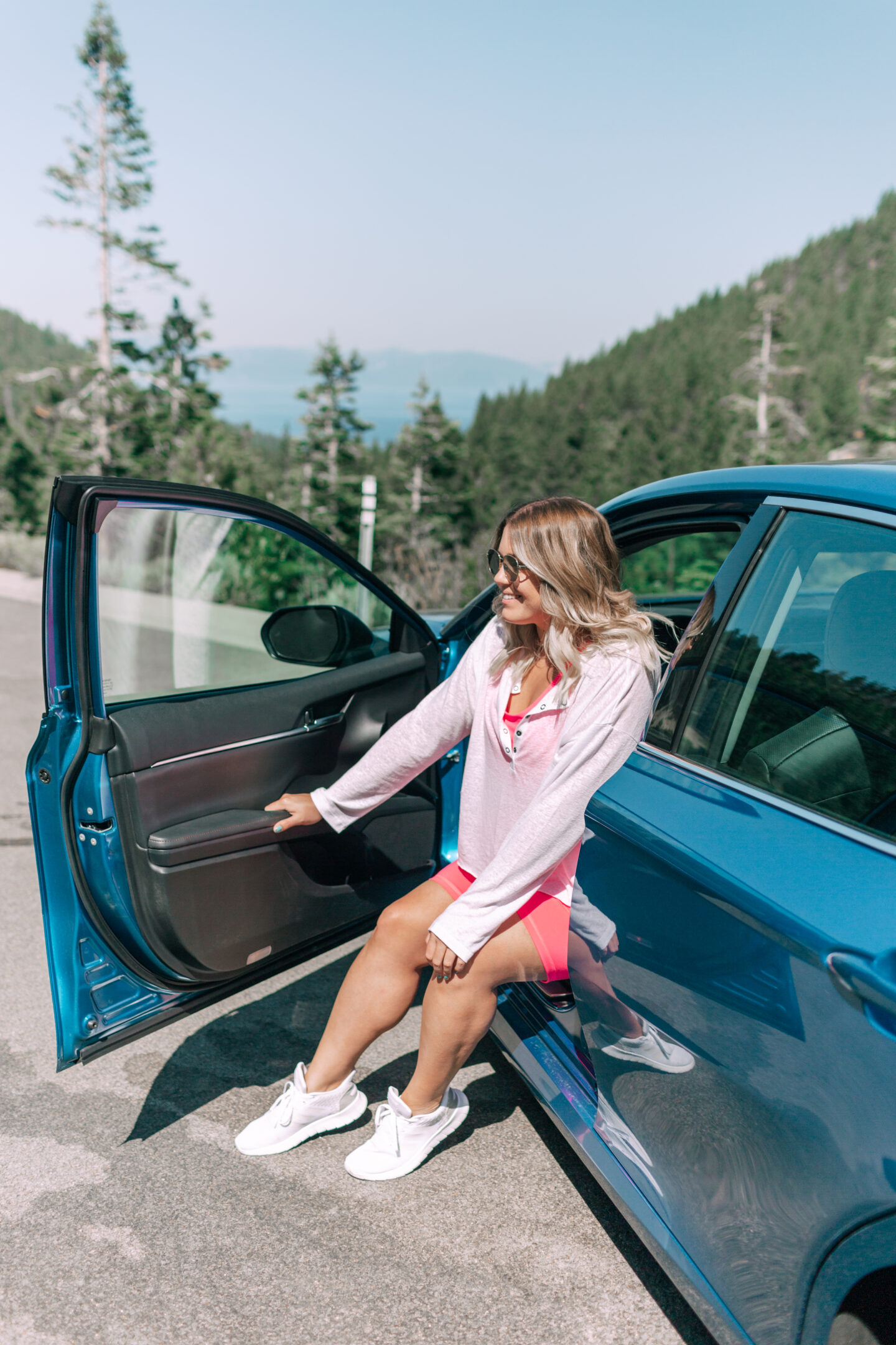 LAKE TAHOE ROAD TRIP WITH THE 2020 TOYOTA CAMRY HYBRID