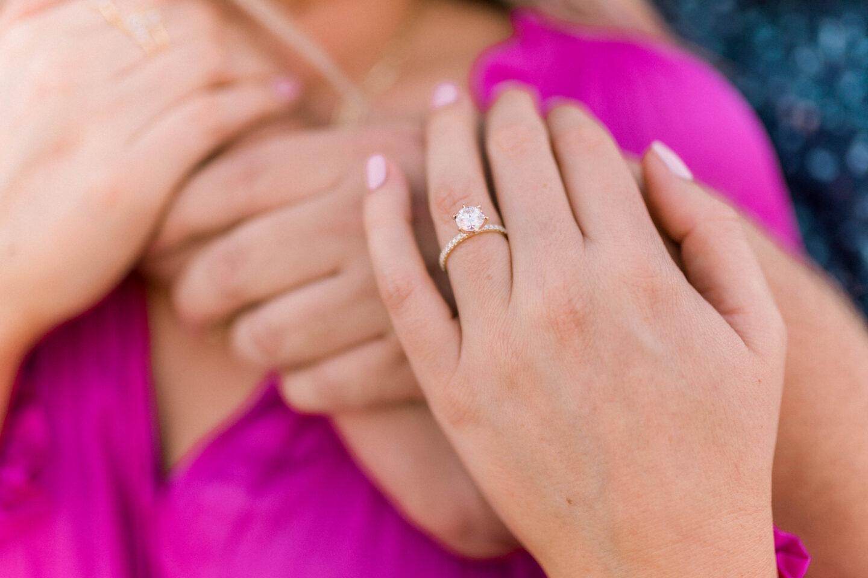 Princess Bride Diamonds engagement ring