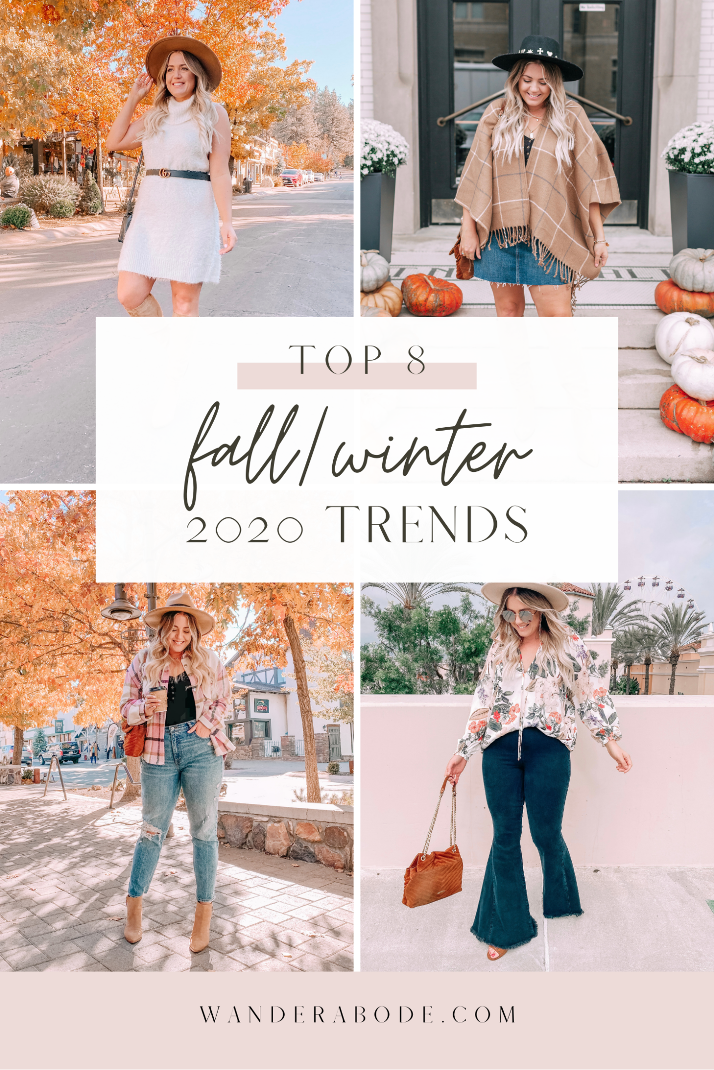 TOP 8 FALL/WINTER 2020 TRENDS