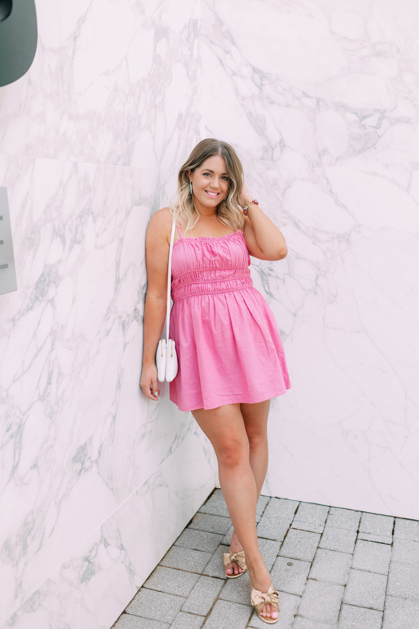 Pink Date Night Dress // wanderabode.com