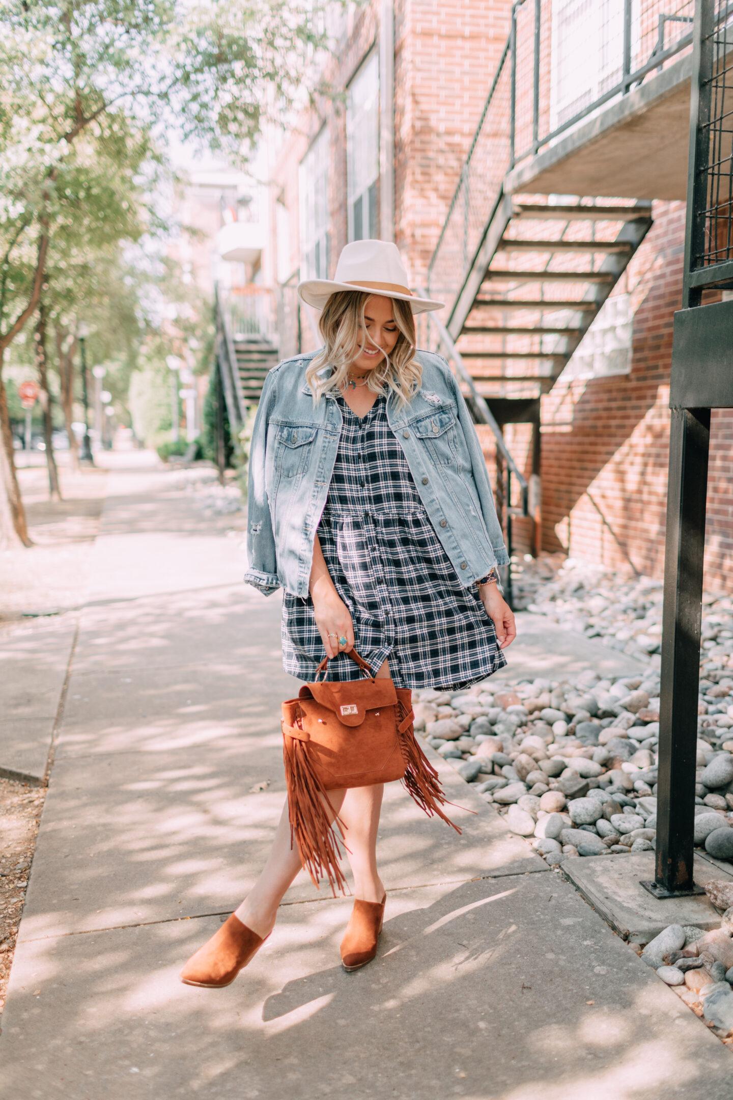 3 Ways to Wear a Plaid Dress