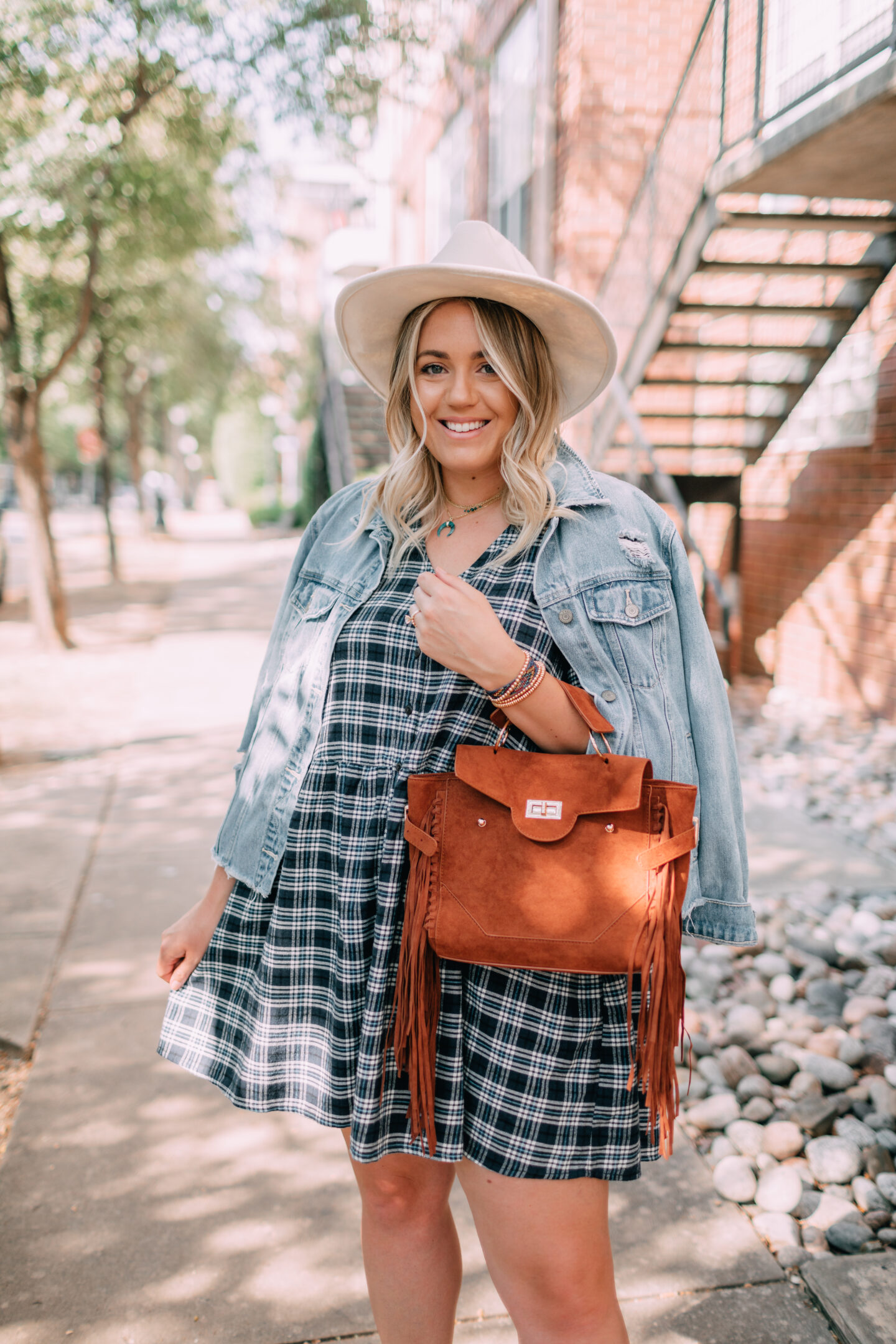 Wild Fable plaid flannel dress