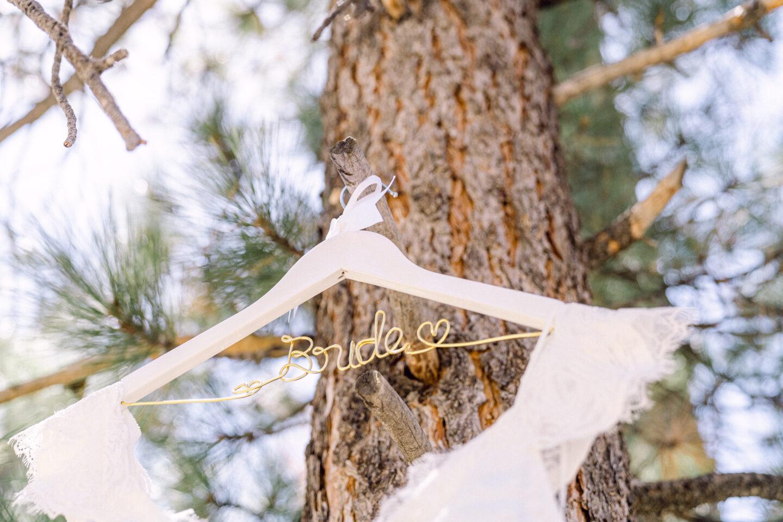 wire bride hanger