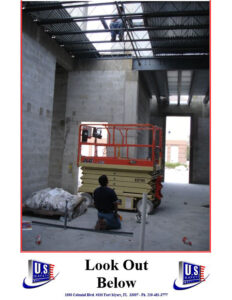 forklift safety violation working on heights