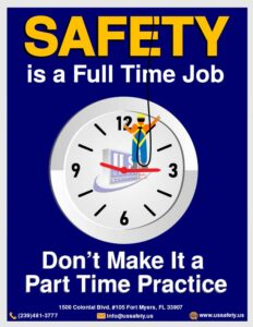 safety full time job poster